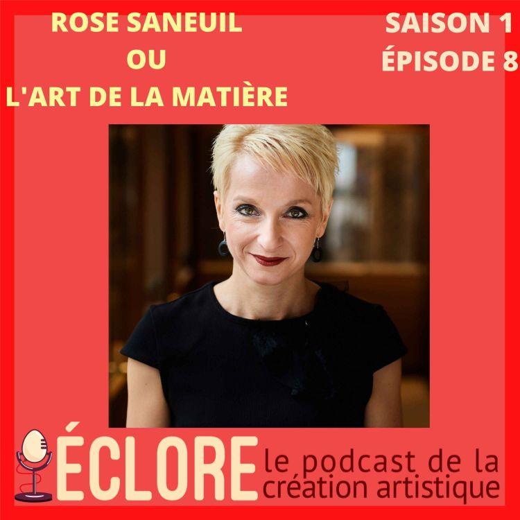cover art for Rose Saneuil ou l'art de la matière