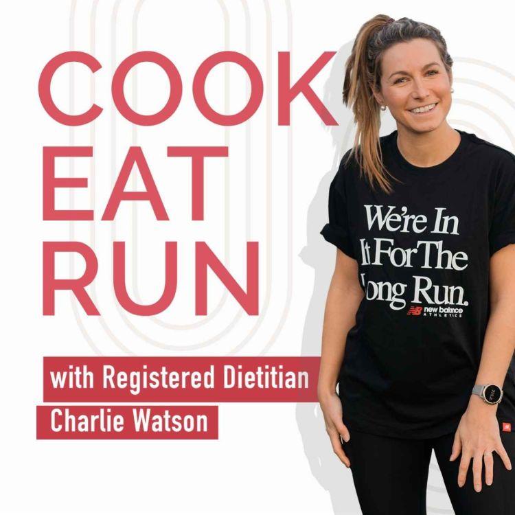 cover art for Strength training for runners with Tashi Skervin-Clarke