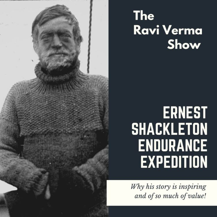cover art for What modern leaders can learn from Ernest Shackleton.