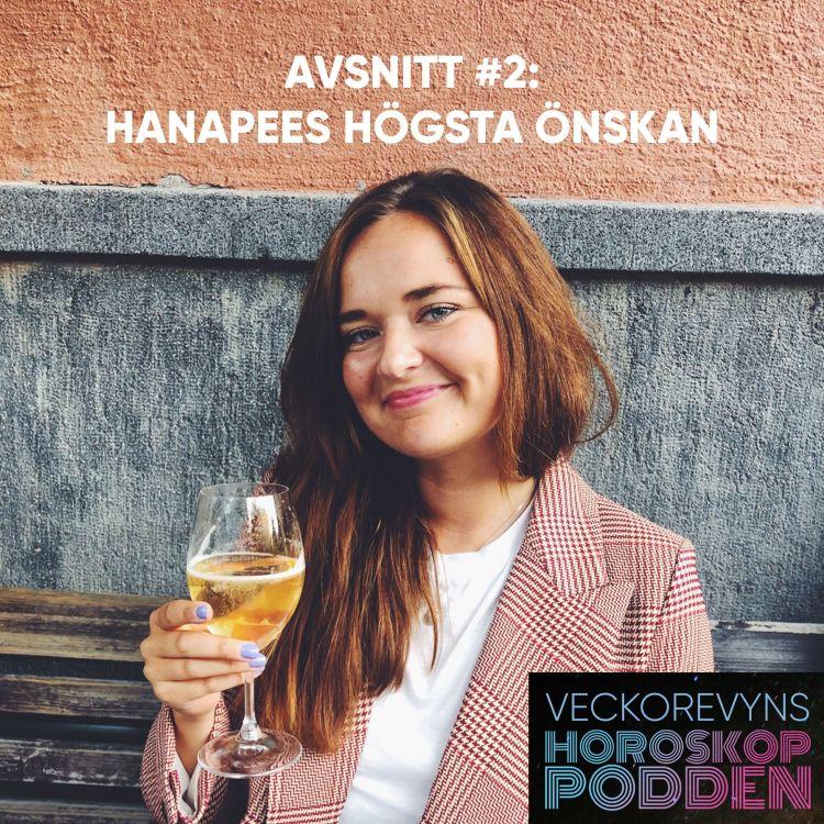 cover art for Jungfrun Hanapees högsta önskan