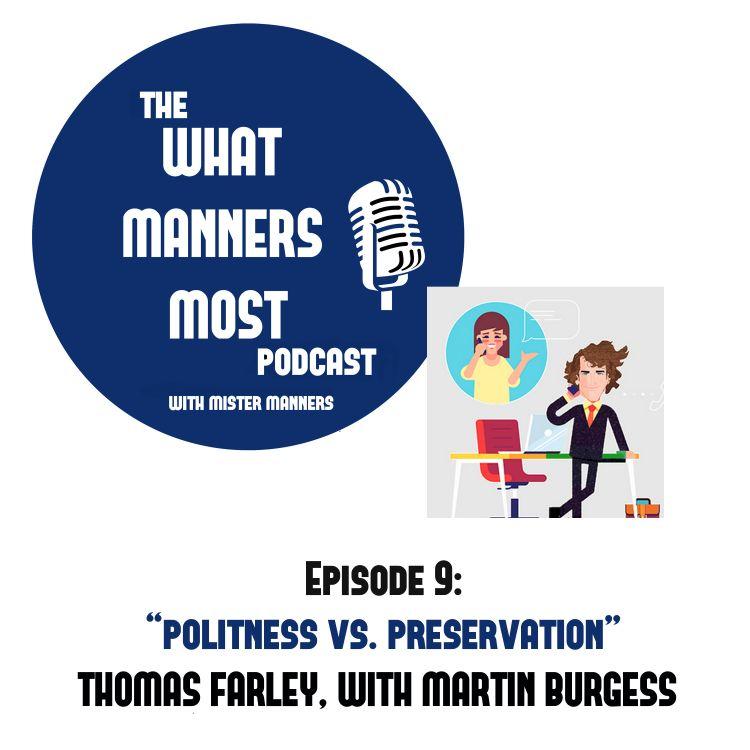cover art for Politeness Versus Preservation