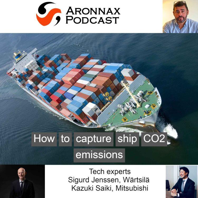 cover art for Capturing ships carbon dioxide emissions