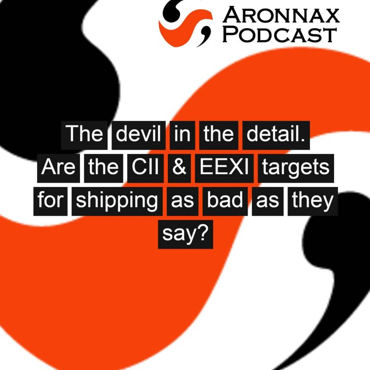 cover art for The devil in the detail of the CII/EEXI measures to curb shippings' CO2 emissions