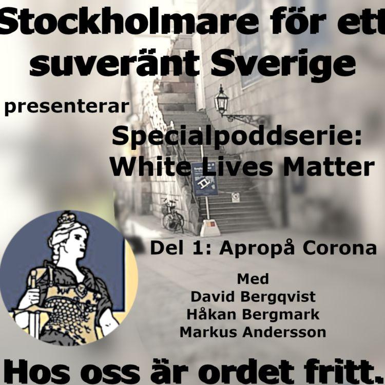 cover art for Specialpoddserie: White Lives Matter