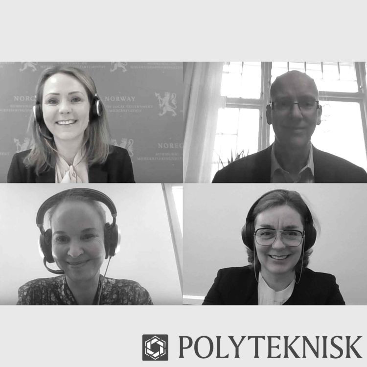 cover art for #Polypod: Topplederen treffer topp-politikeren: Digital butikk på topp