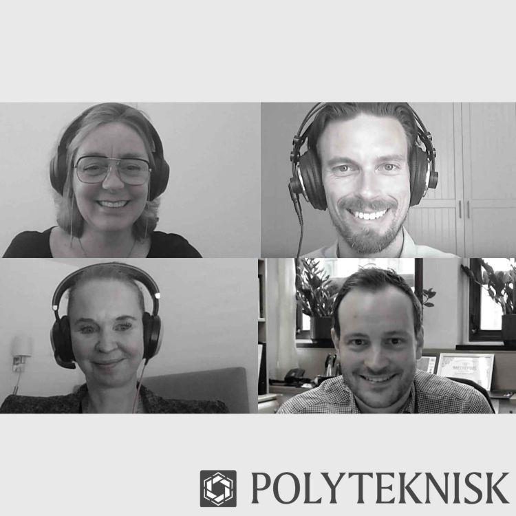 cover art for #PolyPod: Topplederen treffer topp-politikeren: Deling på topp