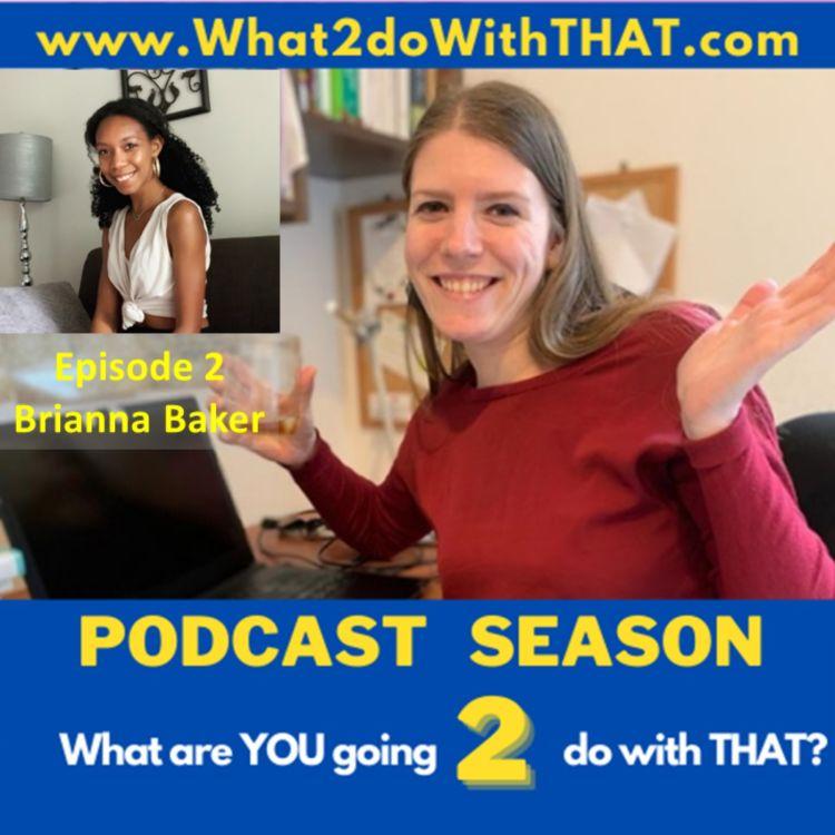 cover art for Episode 22 - Brianna A. Baker
