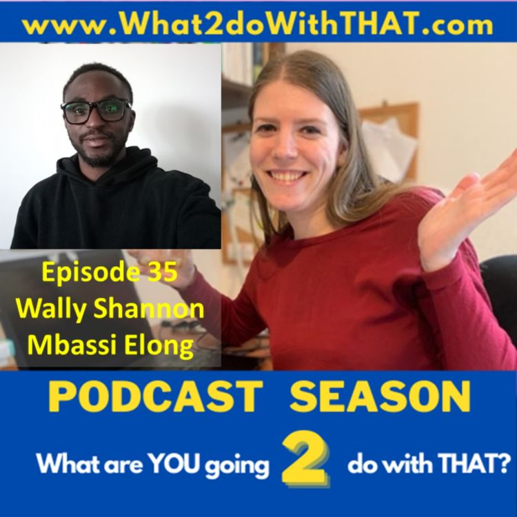 cover art for Episode 35 - Why Manchester United in Pidgin? (With Wally Shannon Mbassi Elong)
