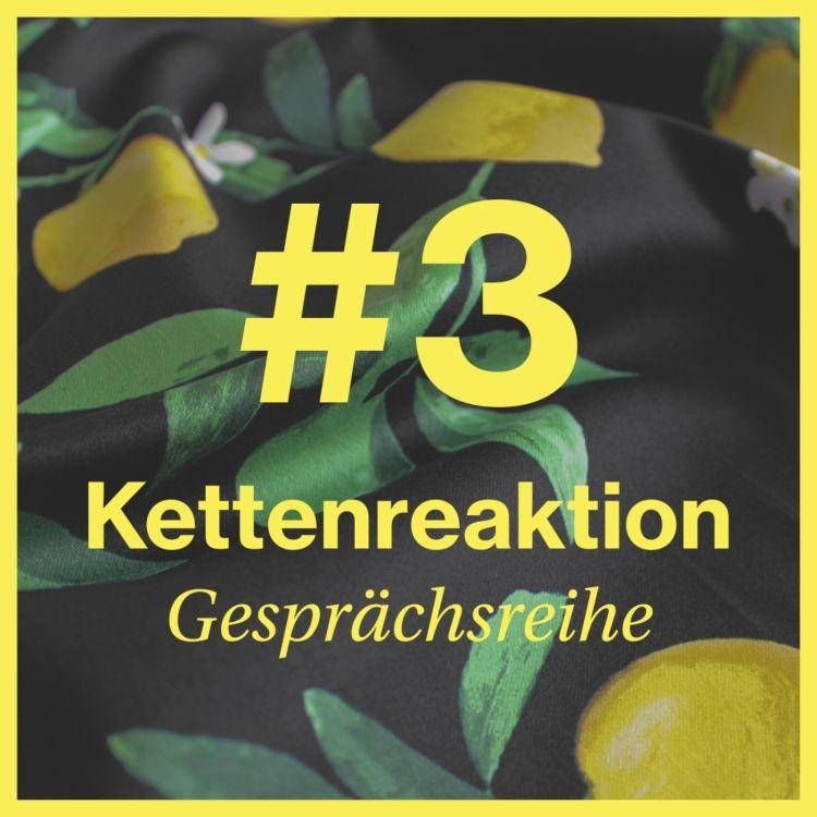 cover art for Kettenreaktion #3 // Eine Gesprächsverrichtung von und mit Ruth Geiersberger - mit Veronika von Quast und Michel Watzinger