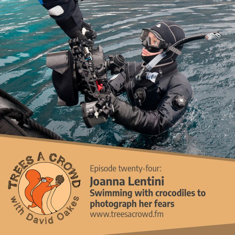 cover art for Joanna Lentini: Swimming with crocodiles to photograph her fears