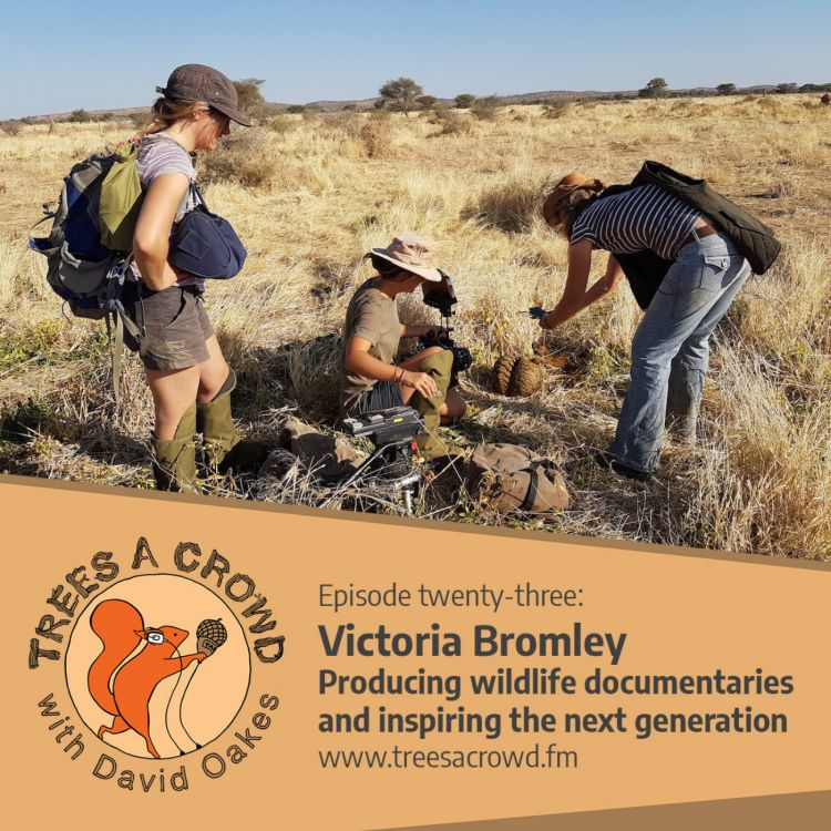 cover art for Victoria Bromley: Producing wildlife documentaries and inspiring the next generation