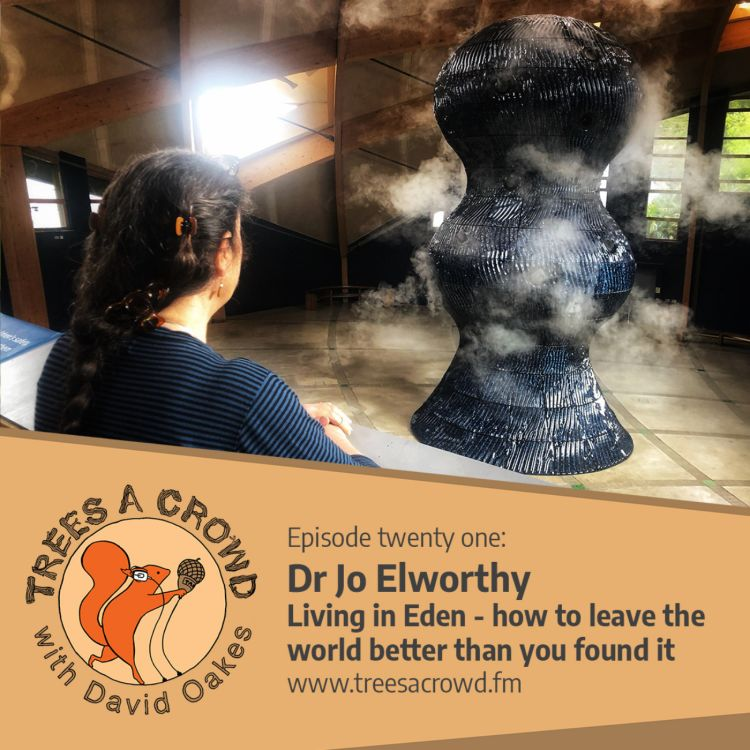 cover art for Dr Jo Elworthy: Living in Eden – how to leave the world better than you found it