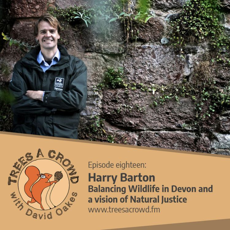 cover art for Harry Barton: Balancing Wildlife in Devon and a Vision of Natural Justice