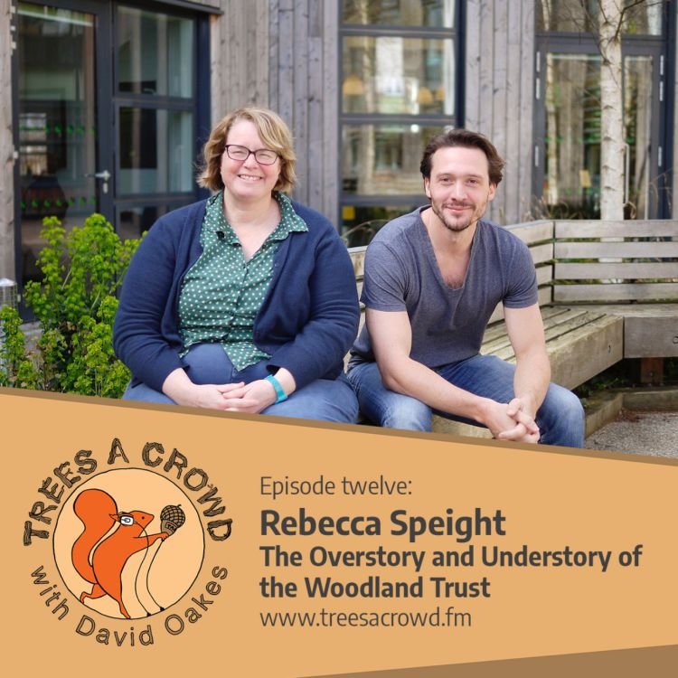 cover art for Rebecca Speight: The Overstory and Understory of the Woodland Trust