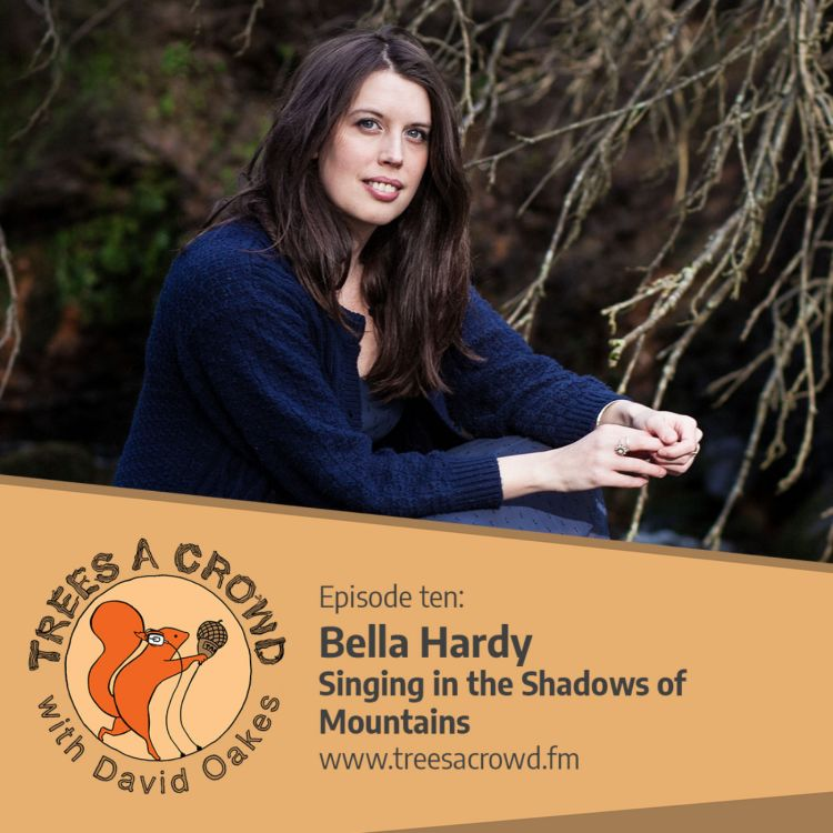 cover art for Bella Hardy: Singing in the Shadows of Mountains