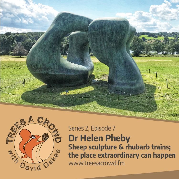 cover art for Dr Helen Pheby: Sculpture for sheep, and rhubarb trains; the place 'Extraordinary' can happen