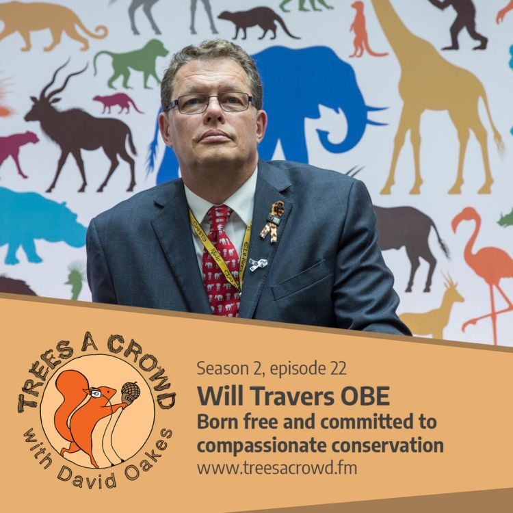 cover art for Will Travers OBE: Born free and committed to compassionate conservation