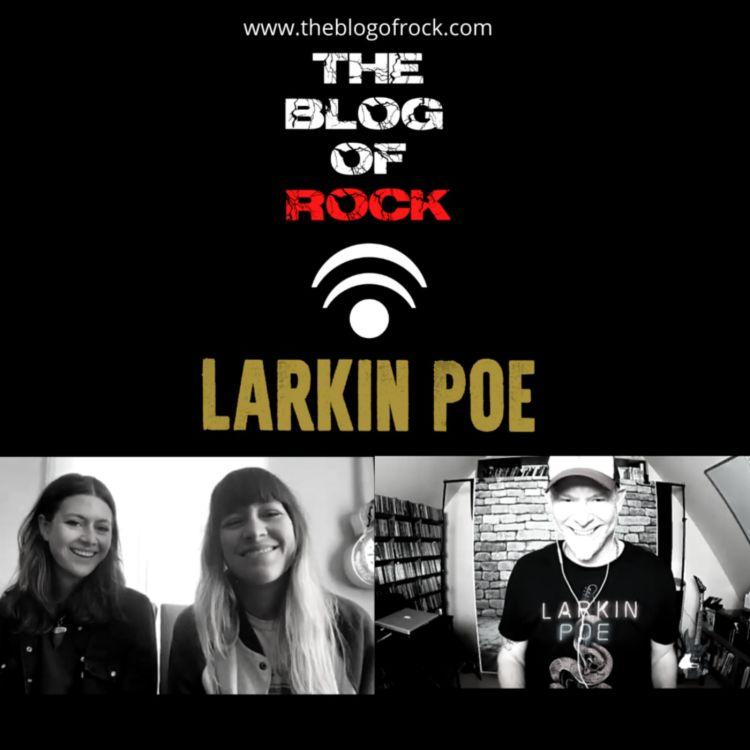 cover art for LARKIN POE (full english version)