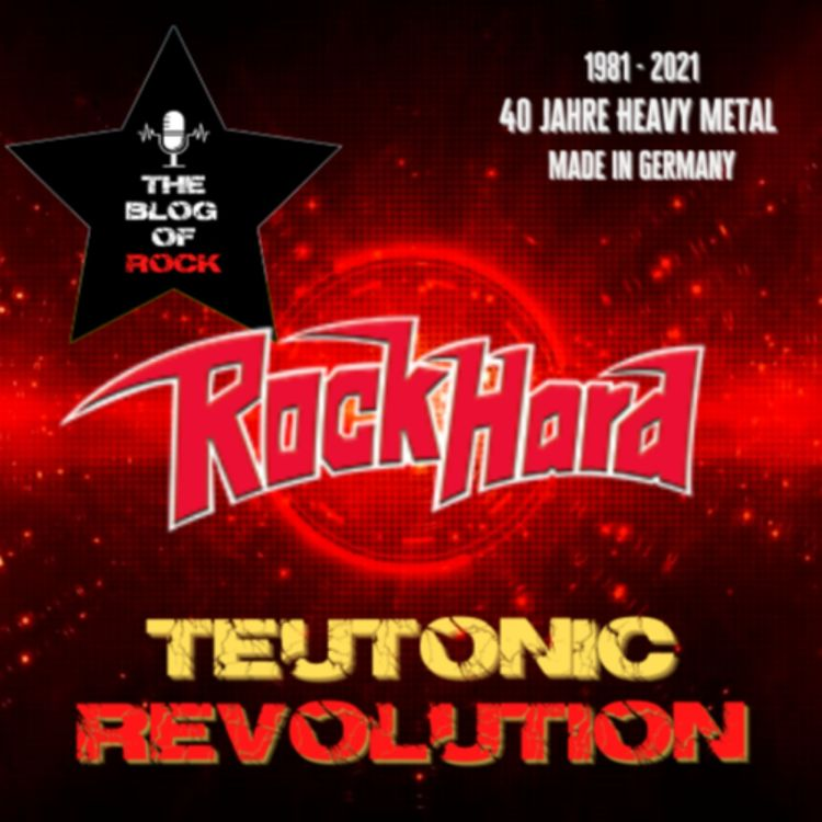 cover art for TEUTONIC REVOLUTION - ROCK HARD: Das Sprachrohr der Bewegung