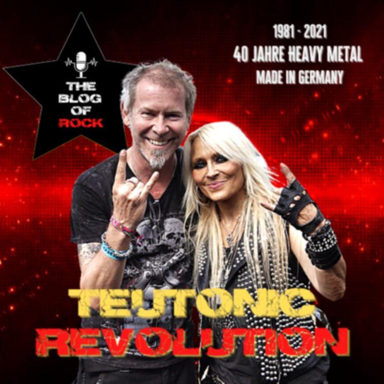 """cover art for TEUTONIC REVOLUTION - DORO-Special Teil 1: Die """"Queen Of Metal"""" über Begegnungen mit ihren männlichen Kollegen"""