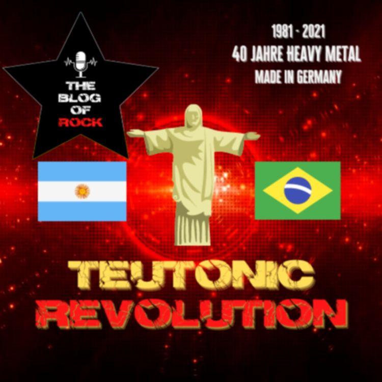 cover art for TEUTONIC REVOLUTION  Exotic - Südamerika & andere noch unerfüllte Träume