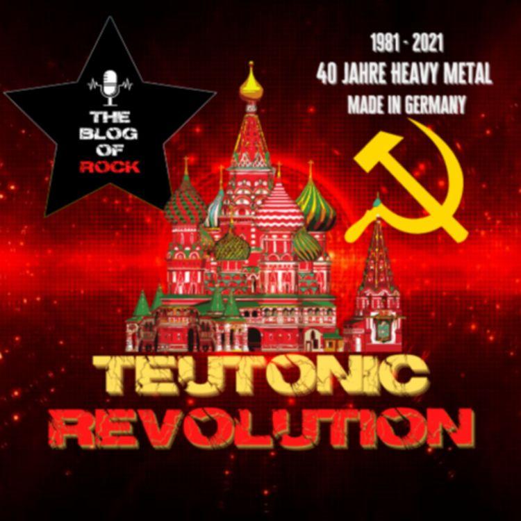 cover art for TEUTONIC REVOLUTION - Хэви-метал из Германии в России (Deutscher Heavy Metal in Russland)