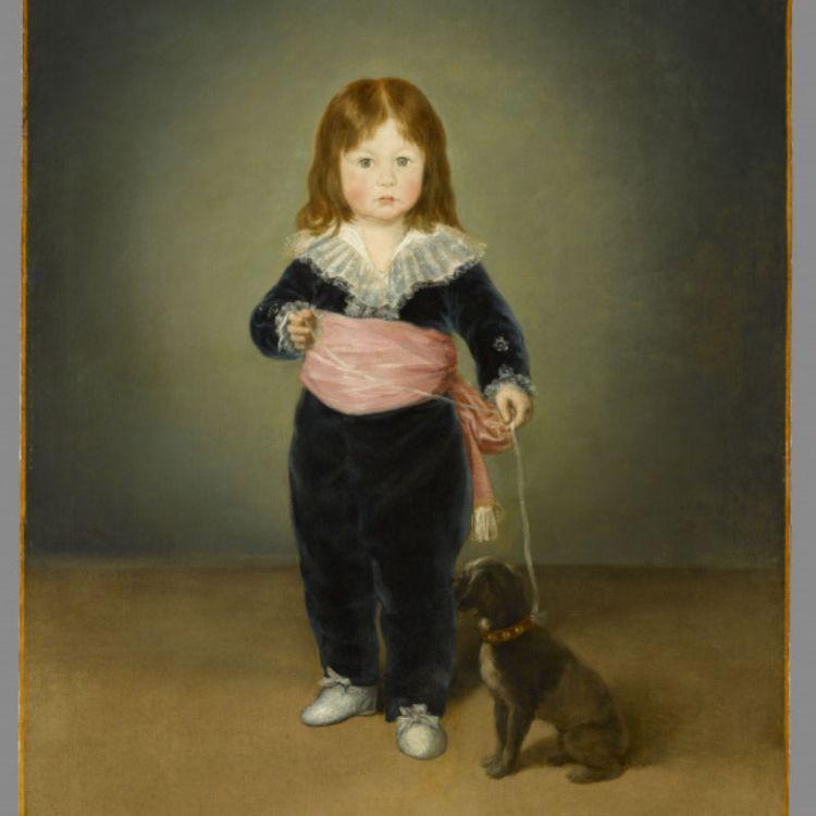 cover art for Portrait de Luis Maria de Cistue y Martinez à l'âge de deux ans. Francisco De Goya
