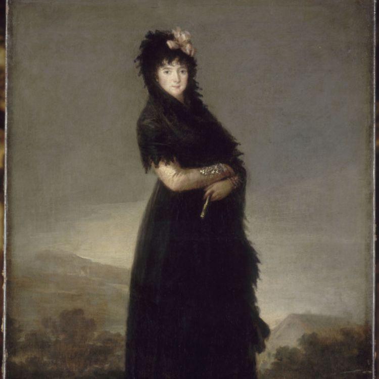 cover art for Portrait de Mariana Waldstein, neuvième marquise de Santa Cruz. Francisco De Goya