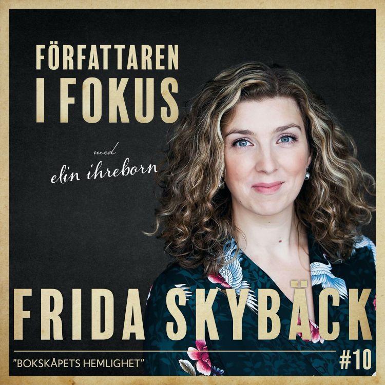 "cover art for Frida Skybäck – ""Bokskåpets hemlighet"""