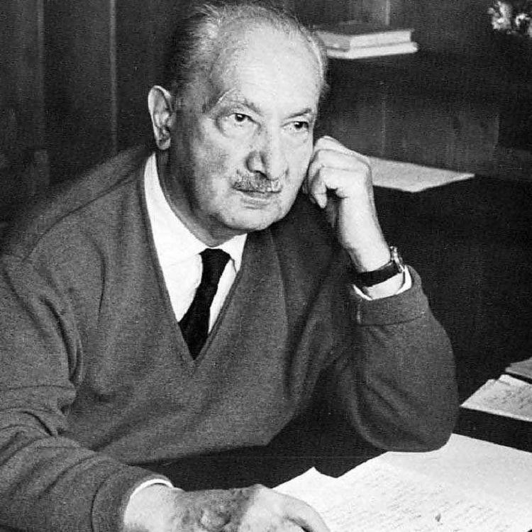 cover art for A morte em Heidegger