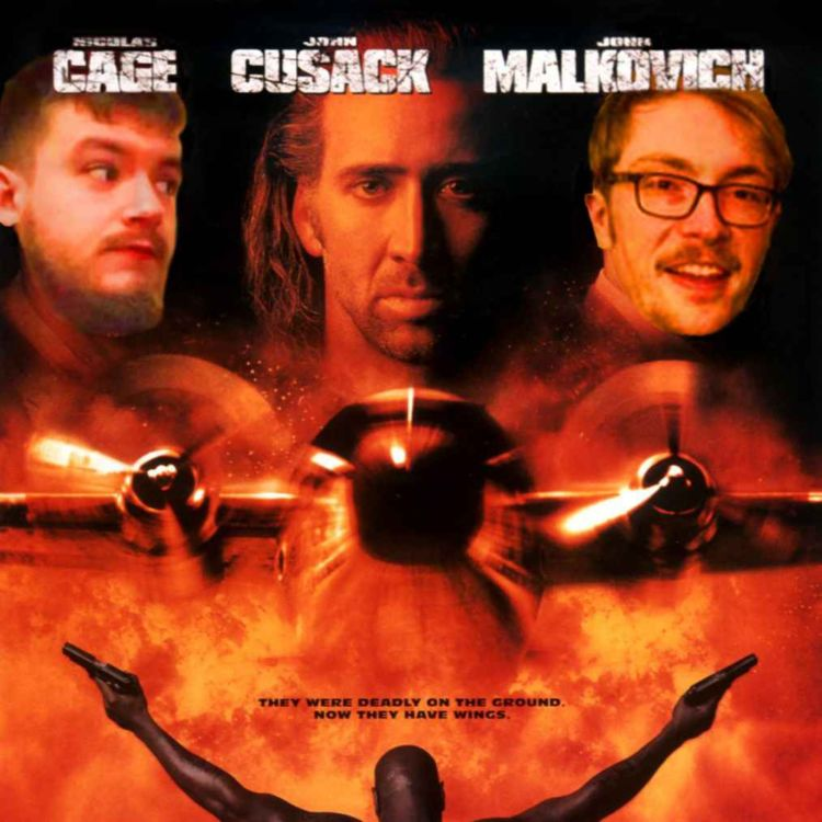 cover art for Episode 26 - Con Air (1997) feat. Tom Broome-Jones