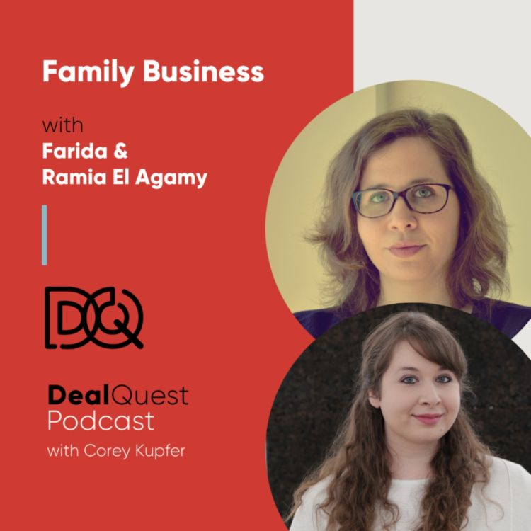 cover art for Episode 110: Family Business with Farida and Ramia El Agamy