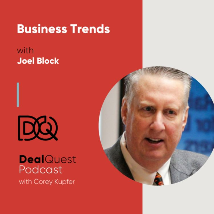 cover art for Episode 111: Business Trends with Joel Block