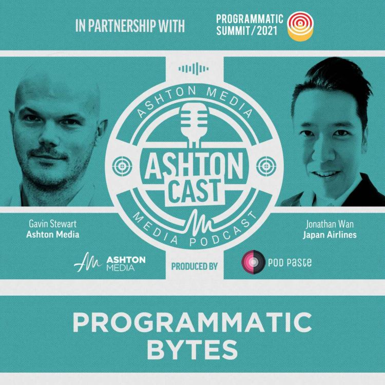 cover art for Programmatic Bytes | Jonathan Wan | Japan Airlines | Part 1
