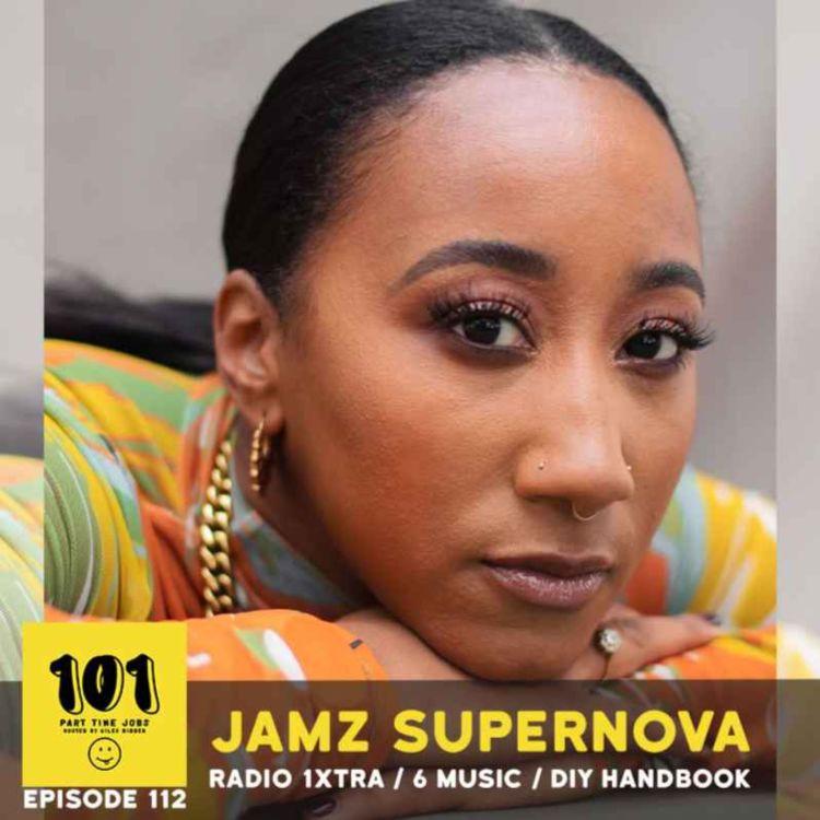 cover art for Jamz Supernova (BBC 1Xtra / 6 Music / DIY Handbook)