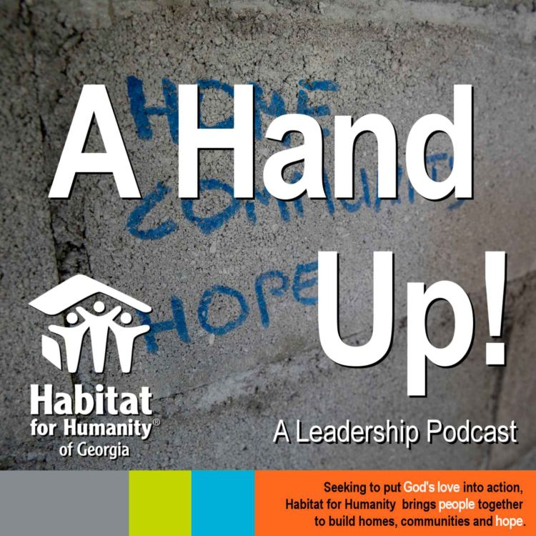 cover art for Introduction to the A Hand Up! Podcast