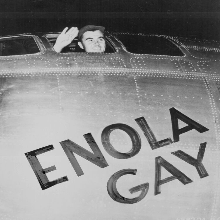 cover art for Enola Gay