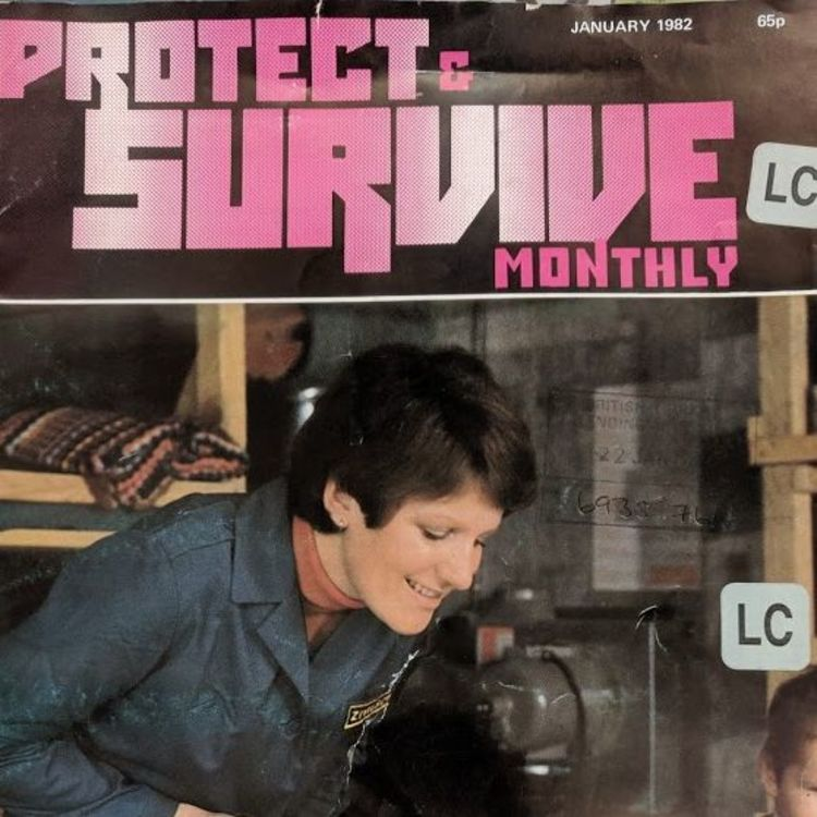 cover art for Protect and Survive Monthly