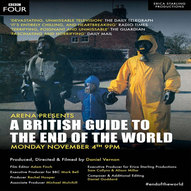 cover art for A British Guide To The End Of The World