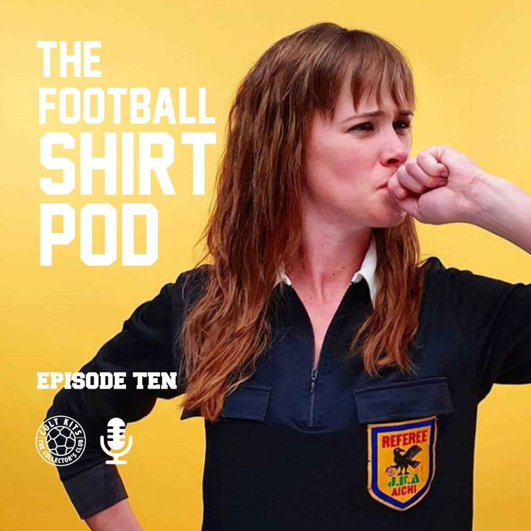 cover art for The Football Shirt Pod - with Marion Reimers