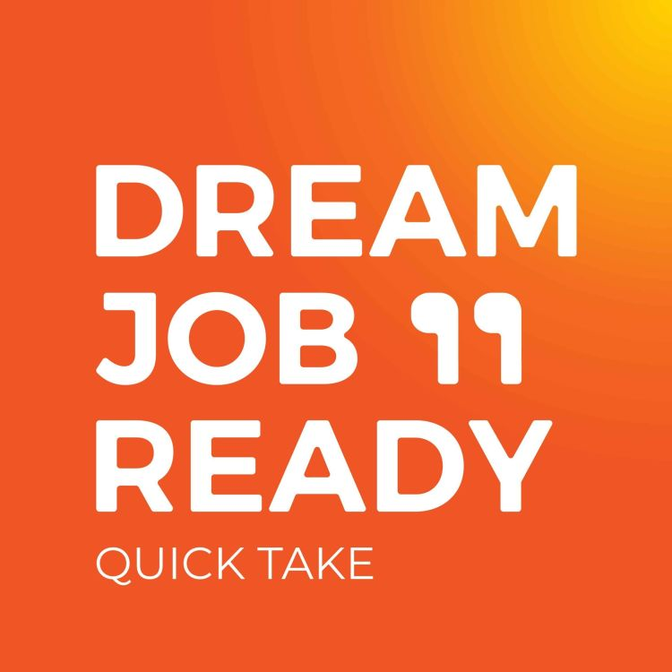 cover art for How to manage people & big, diverse teams plus what makes employees successful | Dream Job Ready Quick Take EP41
