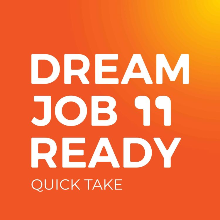 cover art for The importance of culture and values to business success, and the challenge leaders have to keep culture alive, with Dane Sharp and Fred Schebesta | Dream Job Ready Quick Take EP42