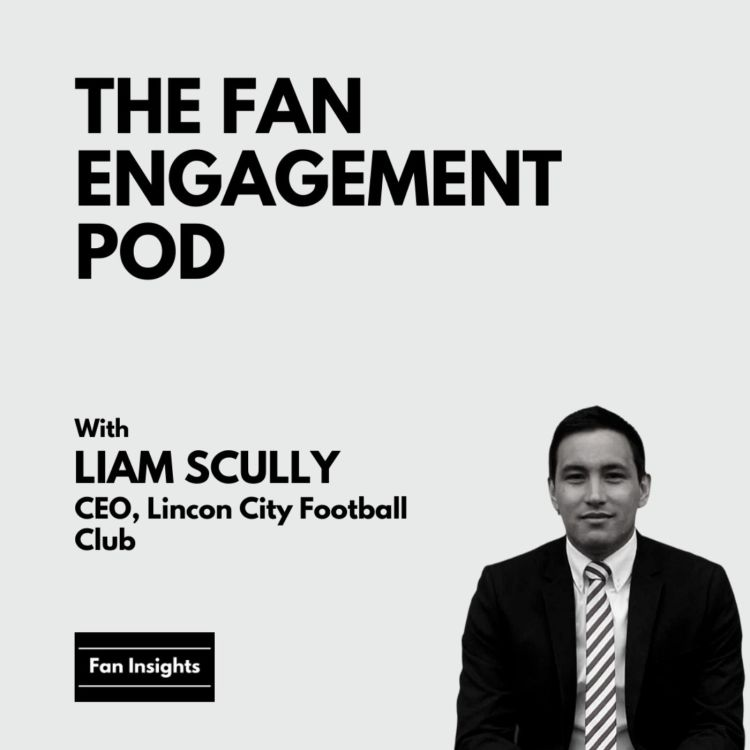 cover art for Liam Scully, CEO of Lincoln City FC