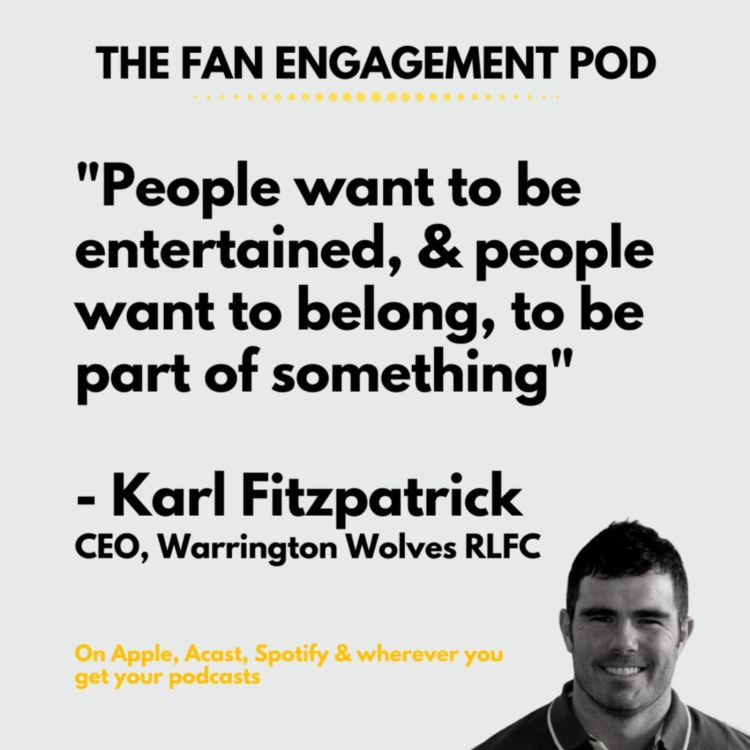 cover art for Karl Fitzpatrick: the fine line between entertainment product & institution