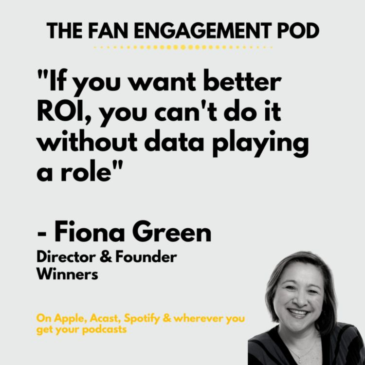 cover art for Data isn't just about numbers: Fiona Green from Winners