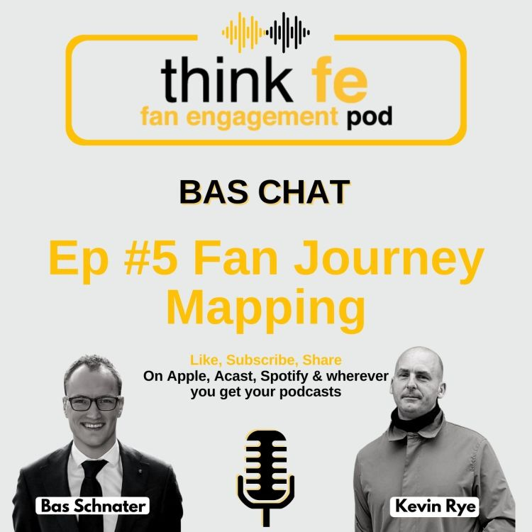 cover art for Bas Chat #5: Fan Journey Mapping