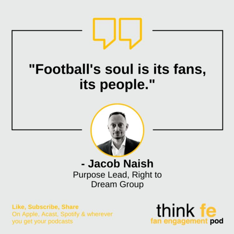 cover art for A man with purpose on his mind: Jacob Naish from Right to Dream Group