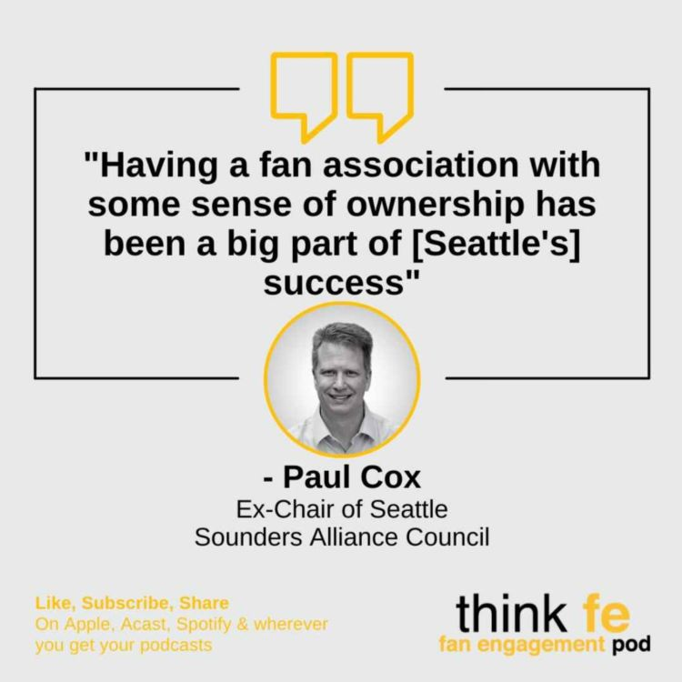 cover art for Paul Cox: Fan Engagement in US Soccer