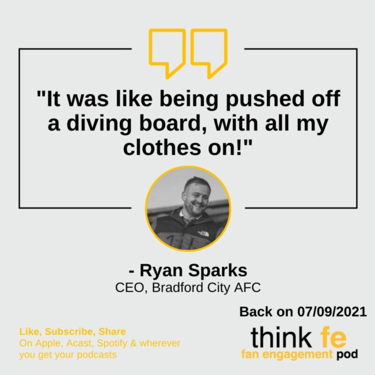 cover art for Bradford City's Ryan Sparks on communicating difficult decisions & building for the future
