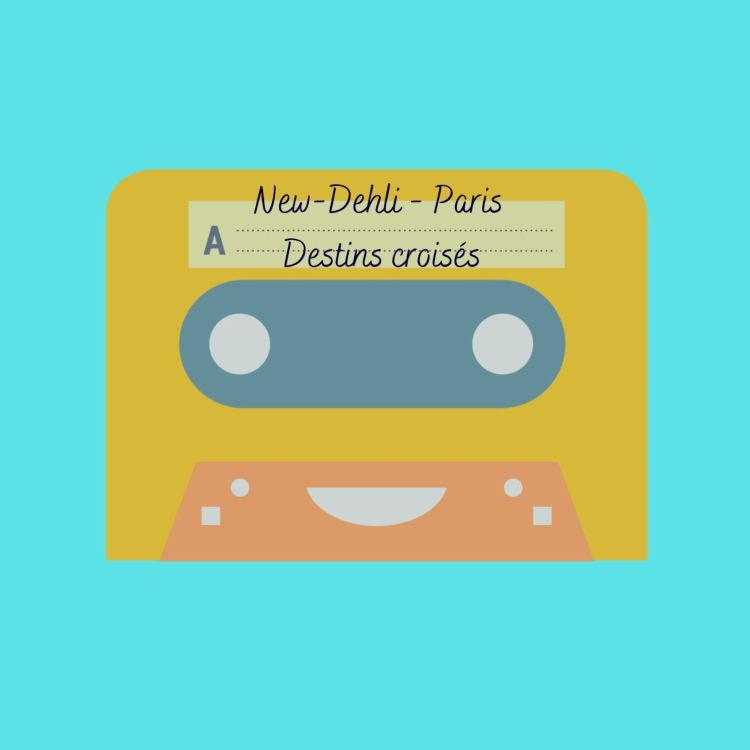 cover art for New-Dehli - Paris, destins croisés - Lauréat 2020 - Catégorie Collège